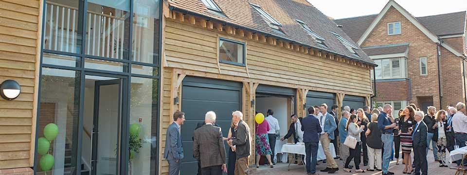Clarendon Close Development Grand Opening