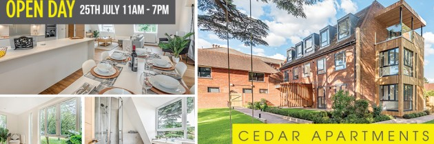 Cedar Apartments Open Day