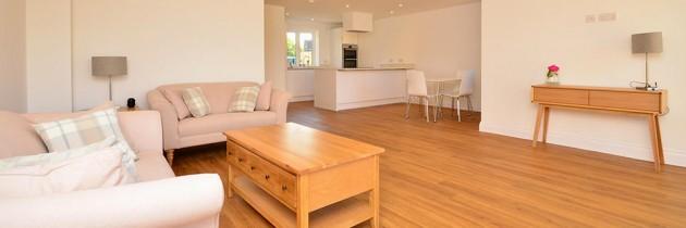 Slade Cottages – Living Area